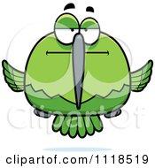 Bored Or Skeptical Green Hummingbird