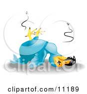 A Dead Dodo Bird To Illustrate The Saying As Dead As A Dodo Clipart Illustration by AtStockIllustration