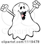 Halloween Ghost Cheering