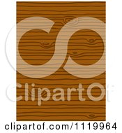 Clipart Of A Seamless Wood Grain Pattern Background Royalty Free Vector Illustration by Cherie Reve