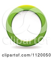 Green Circle And Shadow