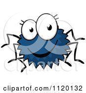 Cartoon Of A Happy Spider Royalty Free Vector Clipart by Vector Tradition SM