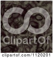 Clipart Of A 3d Seamless Brown Alien Skin Texture Background 1 Royalty Free CGI Illustration