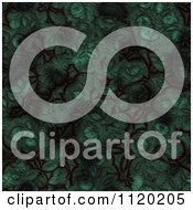 Clipart Of A 3d Seamless Green Alien Skin Texture Background 1 Royalty Free CGI Illustration