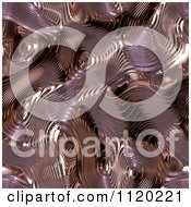 Clipart Of A 3d Seamless Copper Metal Texture Background 9 Royalty Free CGI Illustration