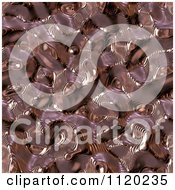 Clipart Of A 3d Seamless Copper Metal Texture Background 10 Royalty Free CGI Illustration