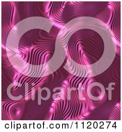 Clipart Of A 3d Seamless Magenta Metal Texture Background 3 Royalty Free CGI Illustration