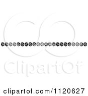 Clipart Of A Retro Vintage Black And White Border 11 Royalty Free Vector Illustration