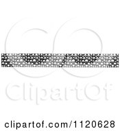 Clipart Of A Retro Vintage Black And White Border 10 Royalty Free Vector Illustration