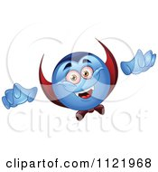 Cartoon Of A Halloween Vampire Emoticon Royalty Free Vector Clipart by yayayoyo