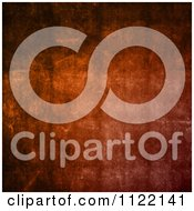 Clipart Of A Grungy Orange Concrete Background Royalty Free CGI Illustration