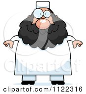 Cartoon Of A Chubby Muslim Man Royalty Free Vector Clipart by Cory Thoman