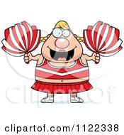 Chubby Blond Cheerleader