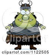 Cartoon Of A Chubby Ogre Man Royalty Free Vector Clipart