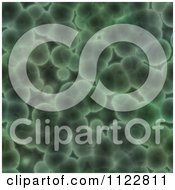 Clipart Of A Seamless Green Bacteria Background Pattern 28 Royalty Free CGI Illustration