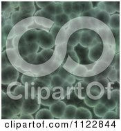 Clipart Of A Seamless Green Bacteria Background Pattern 36 Royalty Free CGI Illustration