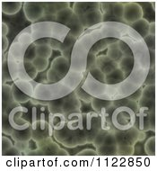 Clipart Of A Seamless Green Bacteria Background Pattern 32 Royalty Free CGI Illustration