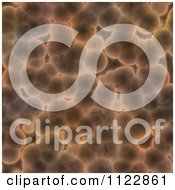 Clipart Of A Seamless Brown Bacteria Background Pattern 5 Royalty Free CGI Illustration