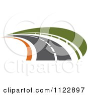 Clipart Of A Road 5 Royalty Free Vector Illustration by Vector Tradition SM