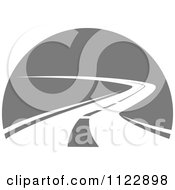 Clipart Of A Road 1 Royalty Free Vector Illustration by Vector Tradition SM