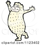 Fantasy Cartoon Of A Monster Royalty Free Vector Clipart
