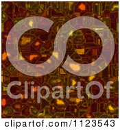 Clipart Of A Seamless Circuitry Texture Background Pattern Royalty Free CGI Illustration by Ralf61