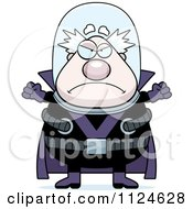Cartoon Of An Angry Chubby Male Villain Royalty Free Vector Clipart by Cory Thoman