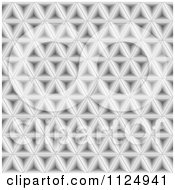 Clipart Of An Abstract Gray Texturized Background Royalty Free Vector Illustration