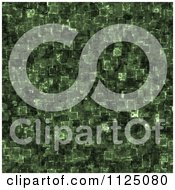 Clipart Of A Seamless Cyber Glow Crystal Texture Background Pattern Royalty Free CGI Illustration