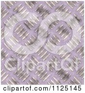 Clipart Of A Seamless Metal Diamond Plate Texture Background Pattern Royalty Free CGI Illustration