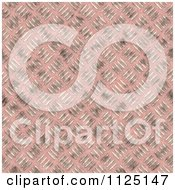 Clipart Of A Seamless Pink Metal Diamond Plate Texture Background Pattern Royalty Free CGI Illustration by Ralf61