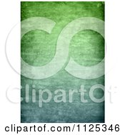 Clipart Of A Green Wrinkled Grunge Background Royalty Free CGI Illustration