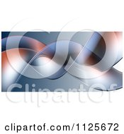 Clipart Of A 3d Background Of Tendrils Royalty Free CGI Illustration