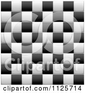 Seamless Black And White Checkered Background