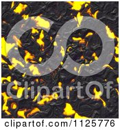 Clipart Of A Seamless Molten Lava Magma Texture Background Pattern 5 Royalty Free CGI Illustration