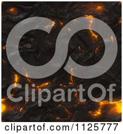 Clipart Of A Seamless Molten Lava Magma Texture Background Pattern 2 Royalty Free CGI Illustration