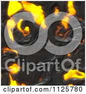 Clipart Of A Seamless Molten Lava Magma Texture Background Pattern 1 Royalty Free CGI Illustration