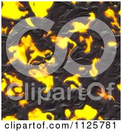 Clipart Of A Seamless Molten Lava Magma Texture Background Pattern 4 Royalty Free CGI Illustration