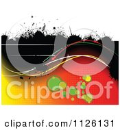 Clipart Of A Grungy Background 2 Royalty Free Vector Illustration