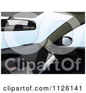 Clipart Of A Car Interior Royalty Free Vector Illustration by leonid