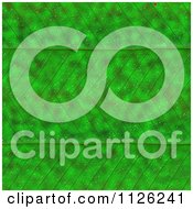 Clipart Of A Seamless Green Leaf Texture Background Pattern 9 Royalty Free CGI Illustration
