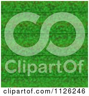 Clipart Of A Seamless Green Leaf Texture Background Pattern 11 Royalty Free CGI Illustration