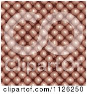 Clipart Of A Seamless Leather Upholstery Texture Background Pattern 2 Royalty Free CGI Illustration