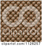 Clipart Of A Seamless Leather Upholstery Texture Background Pattern 3 Royalty Free CGI Illustration