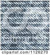 Clipart Of A Seamless Blue Stone Wash Denim Jean Texture Background Pattern 2 Royalty Free CGI Illustration