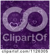 Clipart Of A Seamless Purple Heart Texture Background Pattern Royalty Free CGI Illustration by Ralf61