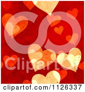 Clipart Of A Seamless Red Heart Texture Background Pattern Royalty Free CGI Illustration by Ralf61