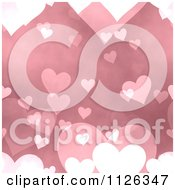 Clipart Of A Seamless Pink Heart Texture Background Pattern Royalty Free CGI Illustration by Ralf61