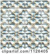 Clipart Of A Seamless Blue Floral Gaudy Texture Background Pattern Royalty Free CGI Illustration by Ralf61