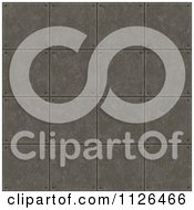 Clipart Of A Seamless Industrial Metal Plate Floor Texture Background Pattern Royalty Free CGI Illustration